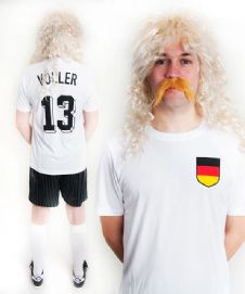 Rudi Völler Germany Football Fancy Dress Costume